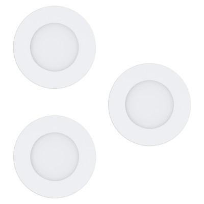 Set 3 spoturi incastrate EGLO FUEVA-RW 97111