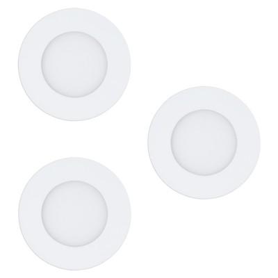 Set 3 spoturi inteligente incastrate EGLO FUEVA-C 32881