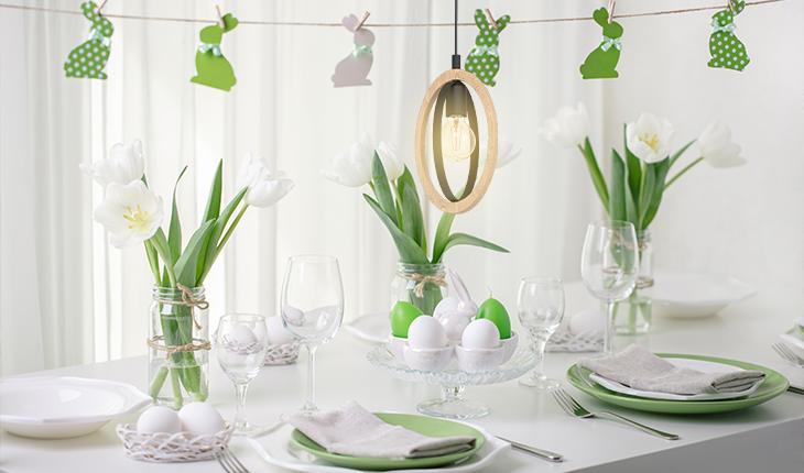 Cum să îți iluminezi casa pentru Paște?